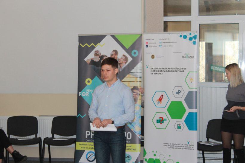 Dezvoltarea capacităților de mobilizare a resurselor și serviciilor de autofinanțare a organizațiilor de tineret