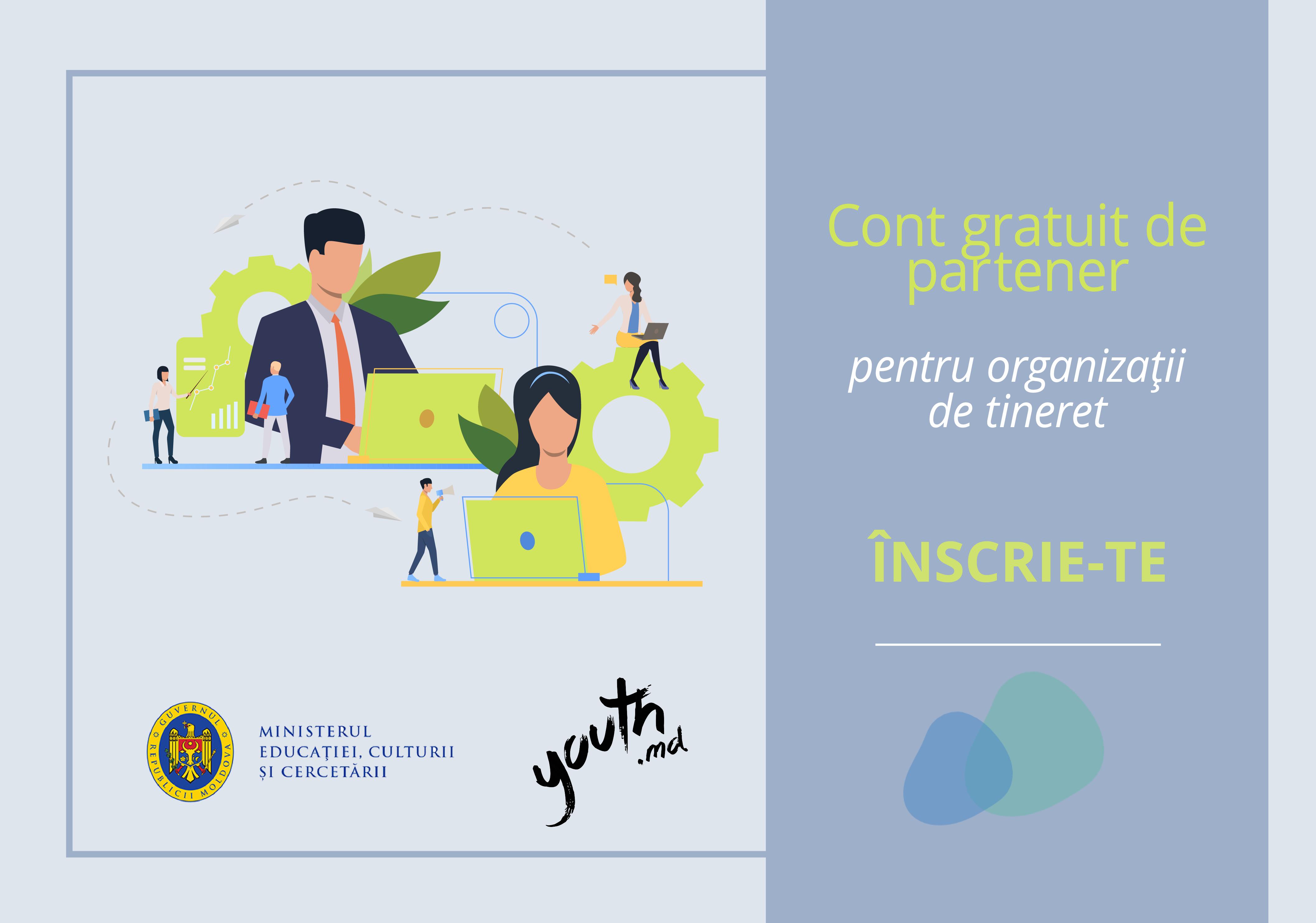 Campanie de informare a tinerilor despre oportunitățile naționale și internaționale de dezvoltare personală
