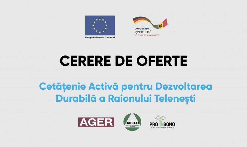 UE // SELECTAREA EXPERȚILOR CARE VOR OFERI SERVICII DE INSTRUIRE, CONSULTANȚĂ PRIVIND PARTICIPAREA CETĂȚENILOR ÎN PROCESUL DECIZIONAL