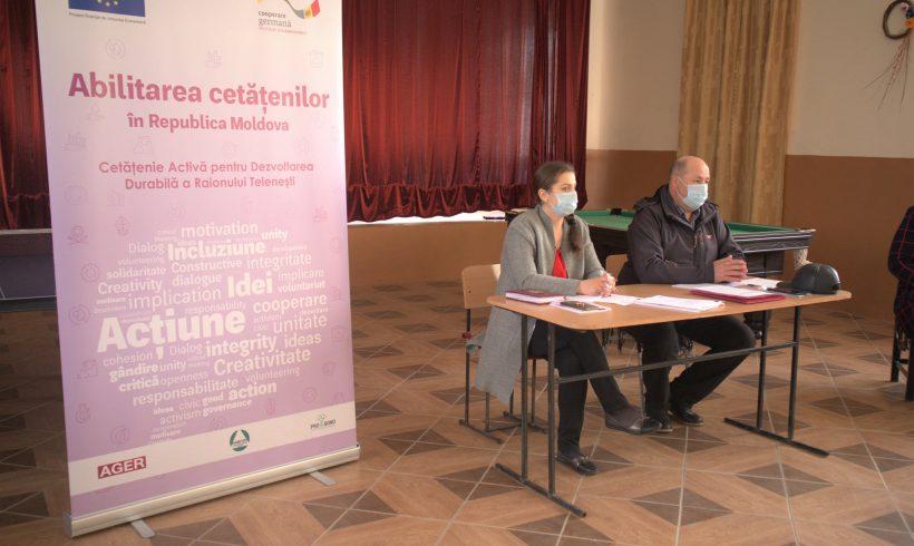 54 de reprezentanți ai primăriilor și Consiliilor Locale din cinci localități ale raionului Telenești, informați despre transparența decizională